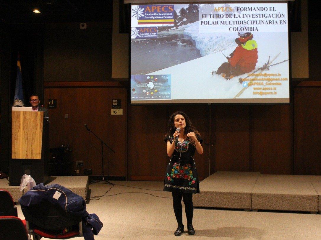 Conferencia de APECS Colombia charla Comisión Colombiana del Océano2