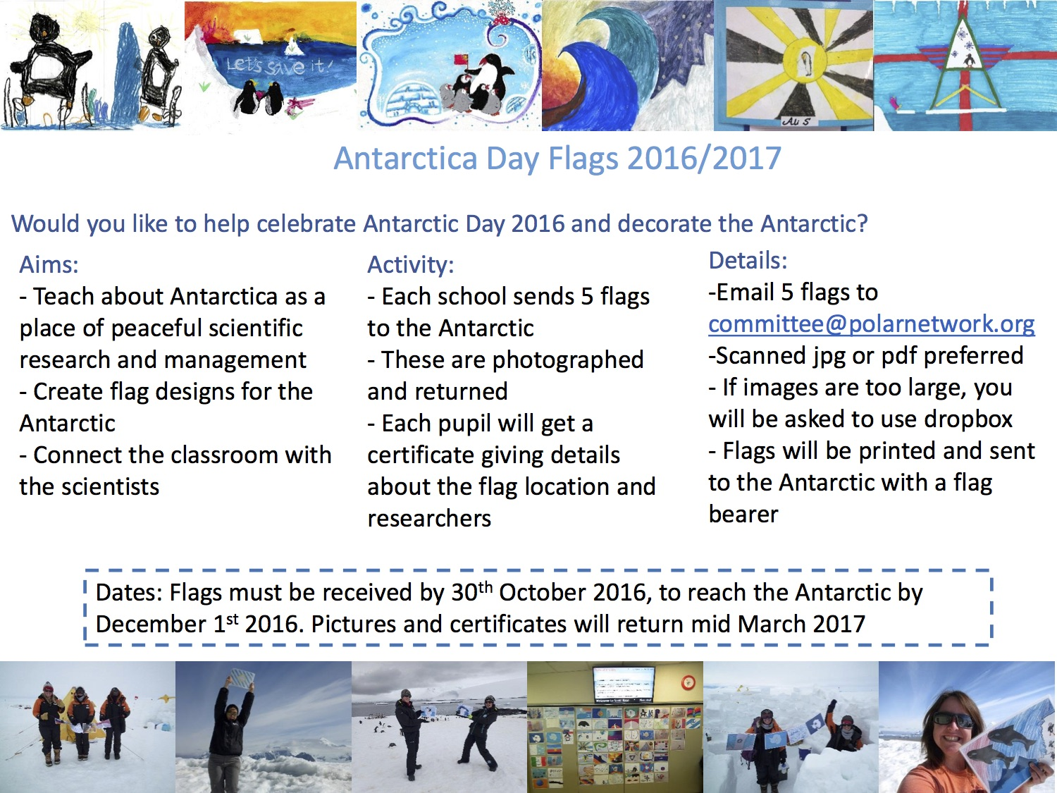 antarctic day flags 2016 copy